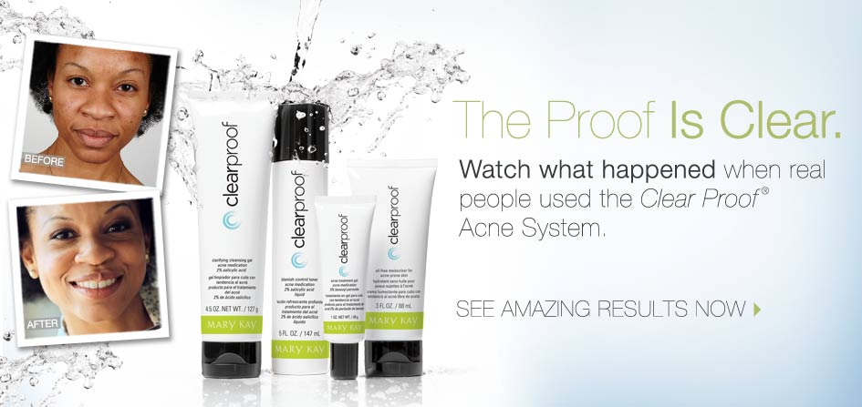 Clear Proof Acne System From Marykay Cosmetic Square Nigeria